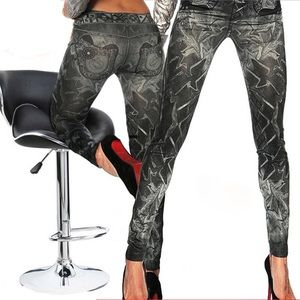 Pants - High Waist Leggings